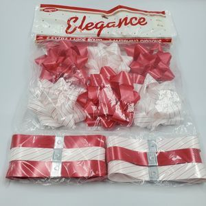 Elegance Vintage Christmas Ribbons New Old Stock